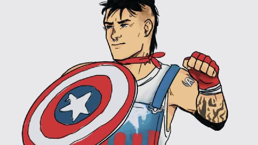 Aaron Fischer será o novo Capitão América nos quadrinhos