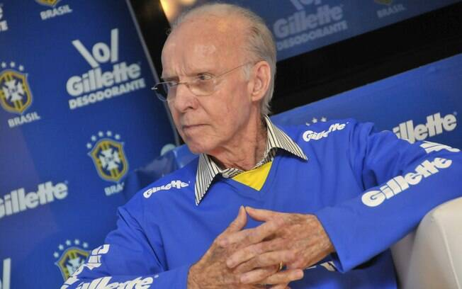 Zagallo, ex-treinador da seleção brasileira