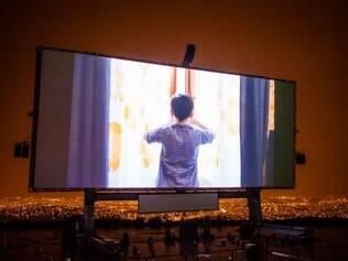 A torcida do Galo poderá assistir a finalíssima numa tela de cinema que tem 325 m²