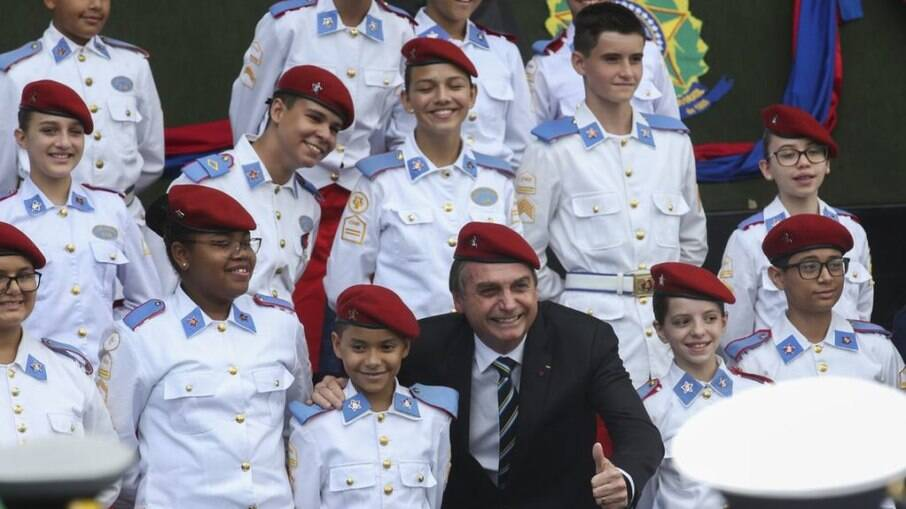 Indicações de membros das Forças lideram matrículas em colégios militares