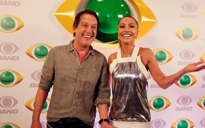 Emílio Surita e Sabrina Sato