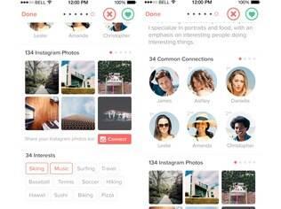 Aplicativo de paquera já bastante conhecido, o Tinder ganhou recentemente integração com o Instagram. Gratuito, o app está disponível para Android e iOS