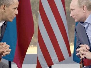 Obama e Putin decidem entrar em negociações sobre conflitos na Ucrânia