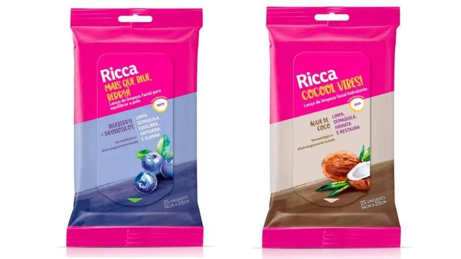 Lenço de limpeza Cocooil Vibes e Mais que Blue, Berry! ! R$ 16,90
