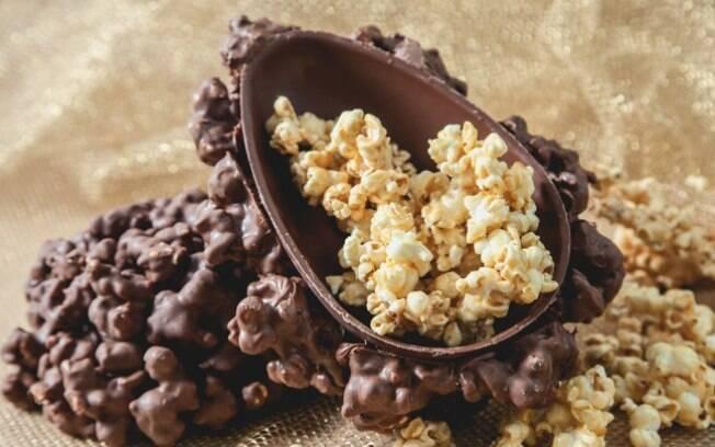 Agora você tem um bowl para comer pipoca doce na Páscoa!