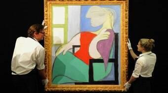 Quadro de Pablo Picasso é leiloado por R$ 500 milhões