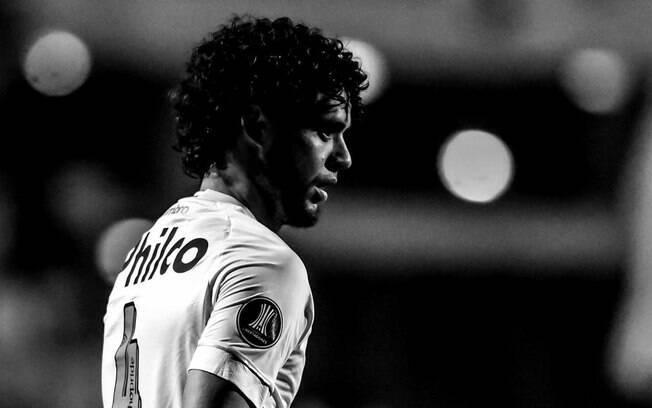 Victor Ferraz lamentou eliminação do Santos na Copa Libertadores de 2018