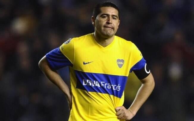 Riquelme, ex-jogador do Boca Juniors