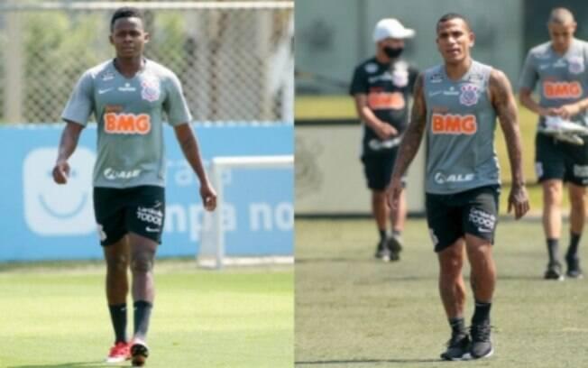 Montagem - Cazares e Otero - Corinthians