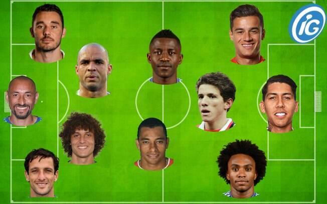 Seleção dos melhores jogadores brasileiros que atuaram no Campeonato Inglês