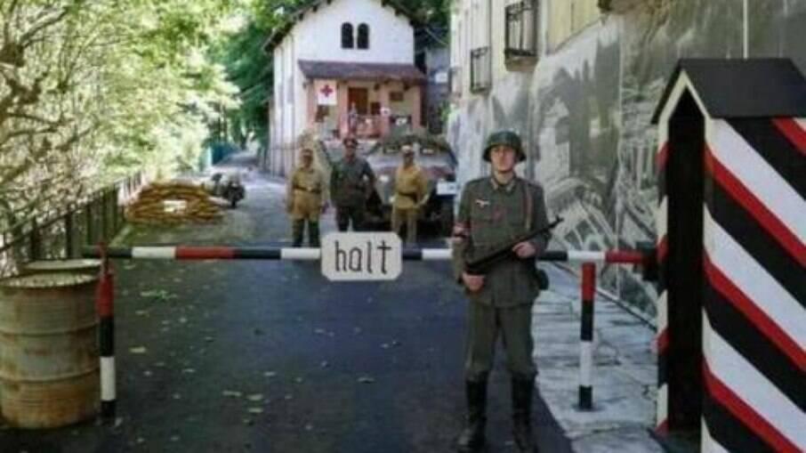 Museu sobre ocupação nazista em Recoaro Terme, no Vêneto