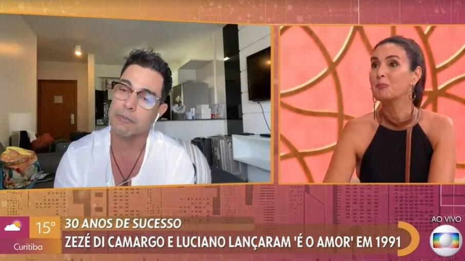 Zezé Di Camargo e Fátima Bernardes