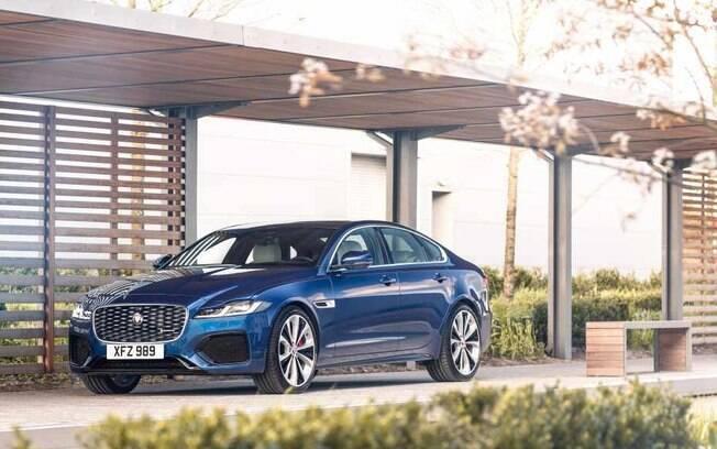 Jaguar XF: sedã de luxo perdeu 24,6%  do valor de tabela ao longo de 2020, de acordo com pesquisa da KBB Brasil