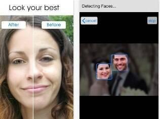 Editor de fotos Pixtr embeleza fotos e corrige falhas na pele. Custa US$ 3, apenas para iPhone/iPad