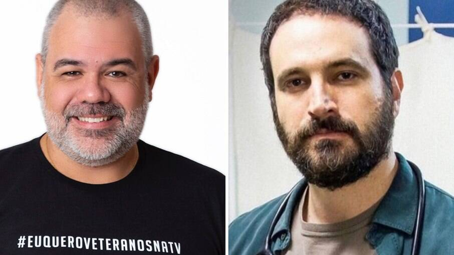 Marcus Montenegro e Caco Ciocler