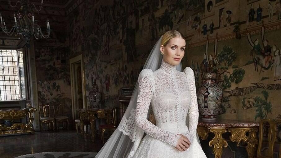 Lady Kitty, sobrinha da princesa Diana, se casa na Itália