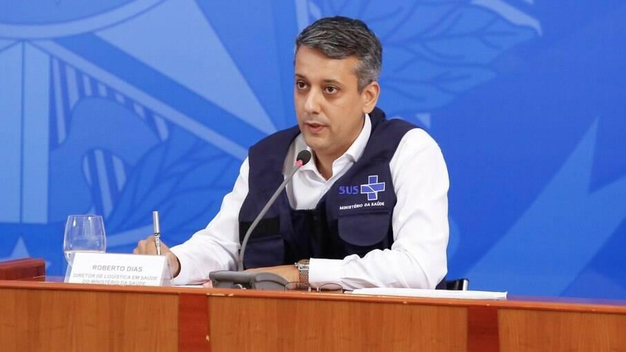 Roberto Dias, ex-diretor de Logística do Ministério da Saúde