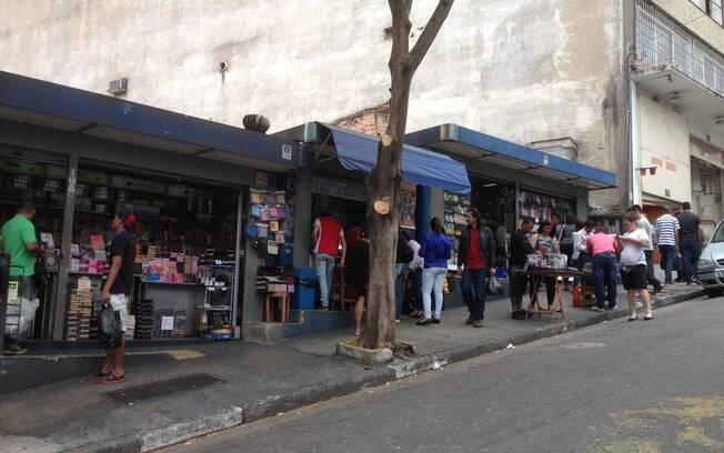lojas nas ruas