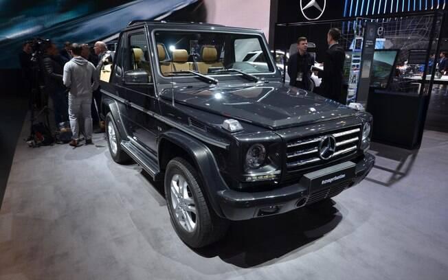 Mercedes-Benz Classe G: aparência quase não muda, ao contrário da estrutura e do conjunto mecânico