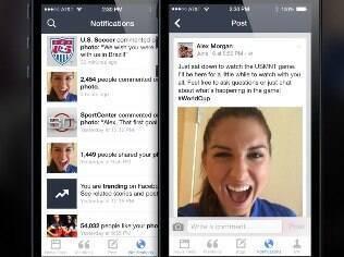 Mentions aprimora interação entre celebridades e fãs no Facebook. Grátis para iPhone