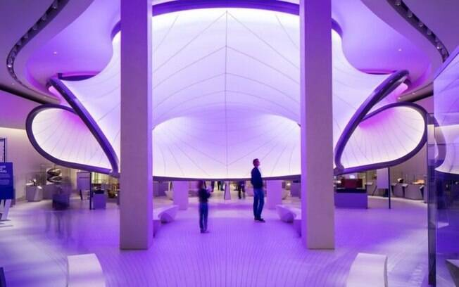 A The Winton Gallery foi desenhada pela arquiteta Zaha Hadid