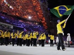 Cerimônia de abertura dos Jogos de Inverno em Sochi, na Rússia, aconteceram nesta sexta