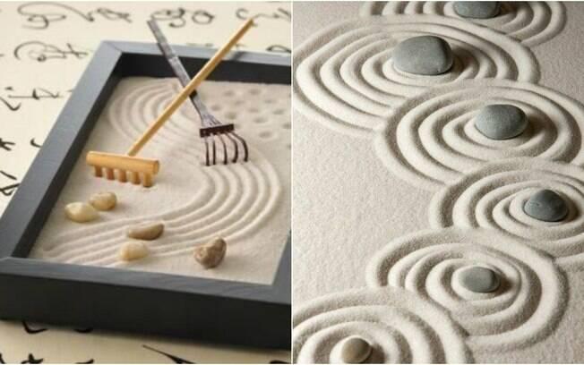 O jardim zen ou jardim japonês tem a proposta de distrair a mente e, dessa forma, estimular a sensação de relaxamento