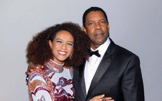 Taís Araújo e Denzel Washington