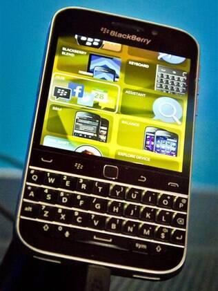 Lançamento do BlackBerry Classic