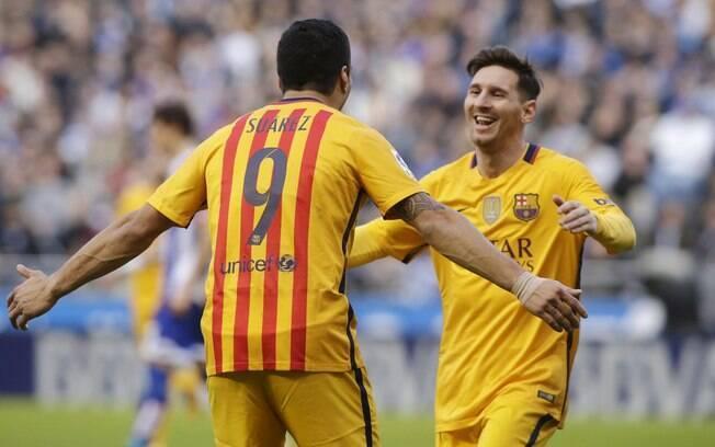 Suárez e Messi estão nos planos do clube de Beckham