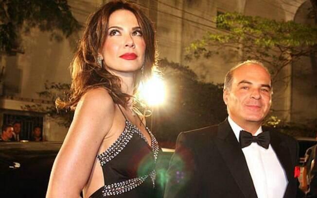9 ANOS: Luciana Gimenez (43 anos) e Marcelo de Carvalho (51 anos). Photo Rio News