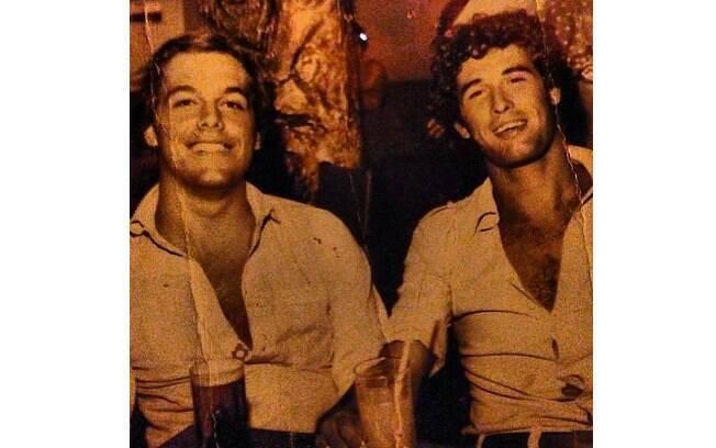 Sérgio Mallandro compartilhou uma imagem do fundo do baú