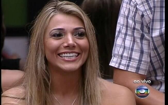 Fabiana deixou a última Prova do Líder na semifinal