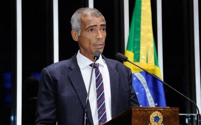 Romário atualmente é político