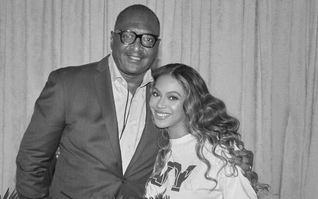 Beyoncé e o pai