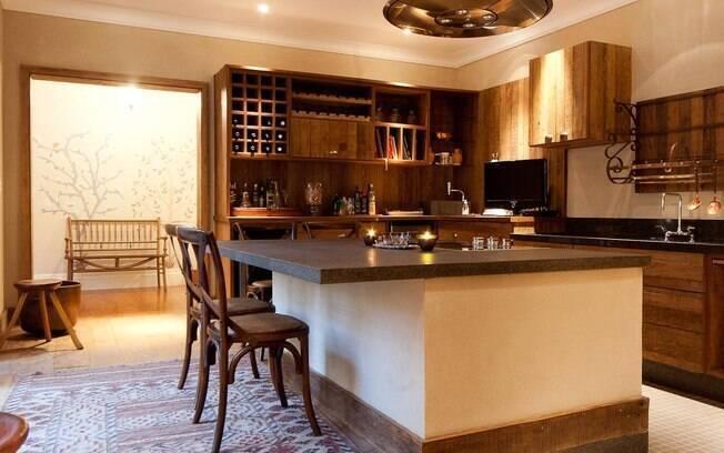 Com R$ 5 mil é possível integrar os ambientes e apostar em cozinhas americanas