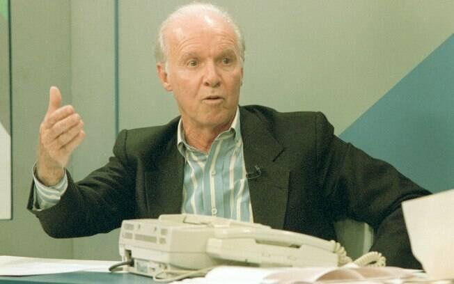 Zagallo em 1994, ano do tetra