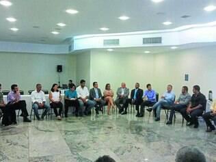 Encontro.  Evento reuniu representantes de várias entidades, como a Ciemg, Acic, Crea/MG, sindicatos, além de deputados e vereadores