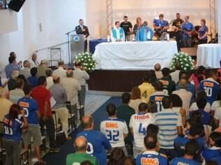 Missa em ação de graça pelos 93 anos do Cruzeiro foi celebrada em 2 de agosto deste ano