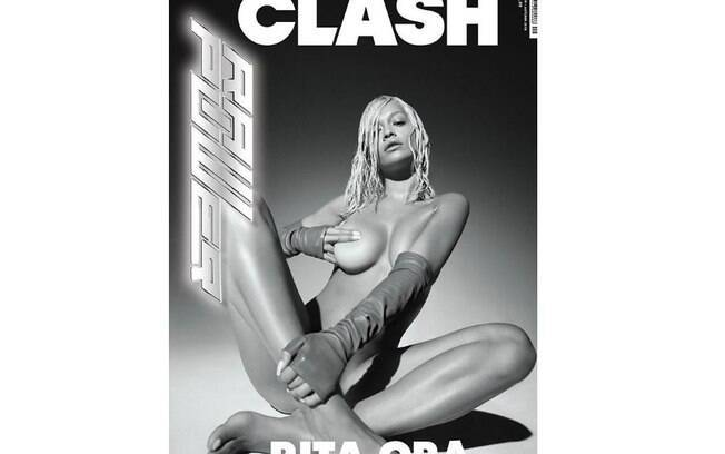 Rita Ora na capa da revista Clash