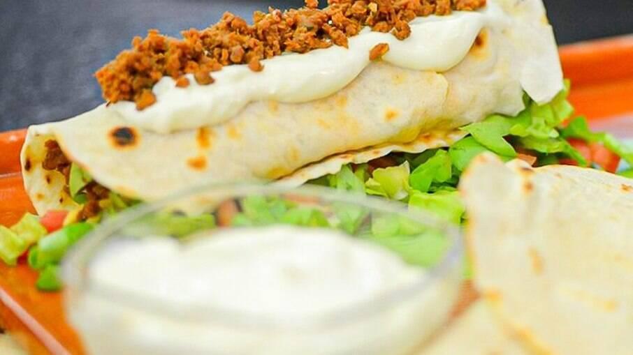 O Burrito é uma receita tradicional mexicana