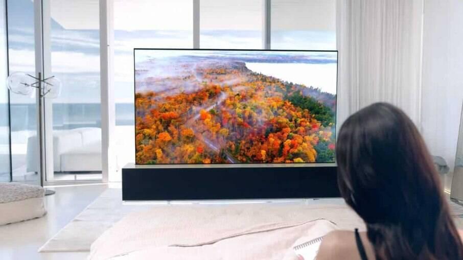 TV enrolável da LG