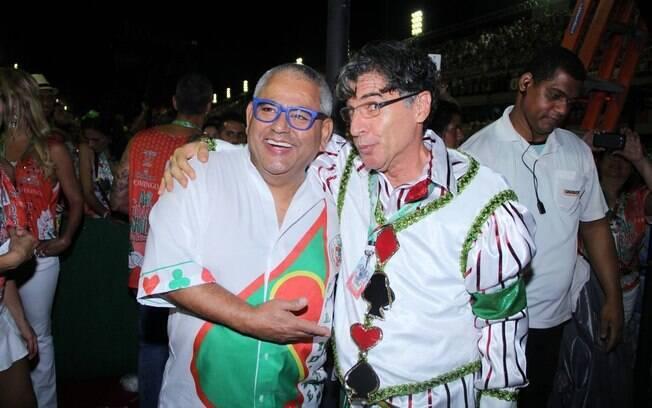 Desfile da Grande Rio. Foto: Rodrigo dos Anjos / AgNews