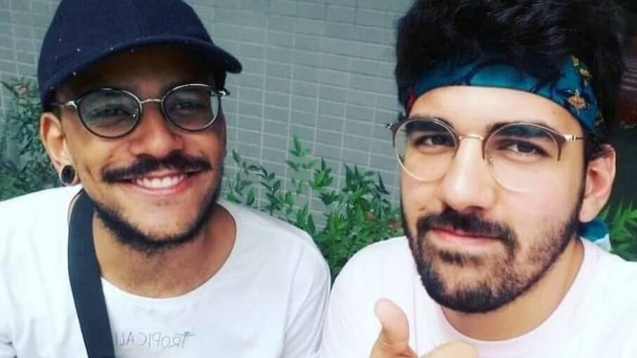 João Luiz e o namorado, Igor Moreira