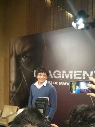O diretor M. Night Shyamalan promove