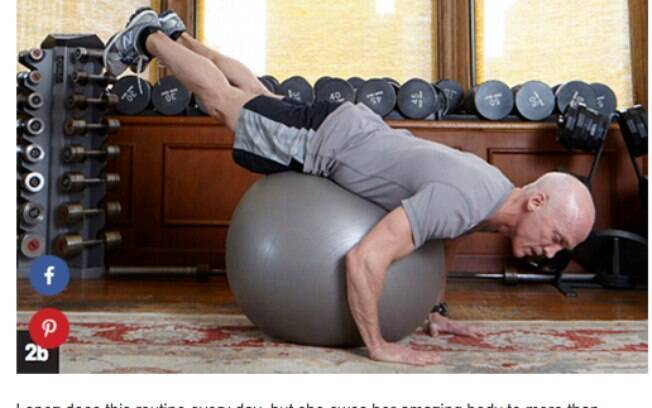 David Kirsch ensina exercício abdominal que faz parte da série de Jennifer Lopez