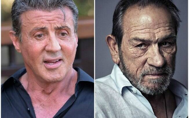 Sylvester Stallone e Tommy Lee Jones