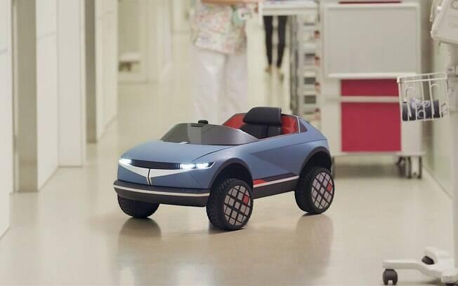 Menor elétrico da Hyundai foi desenvolvido para uso em um hospital infantil na Espanha