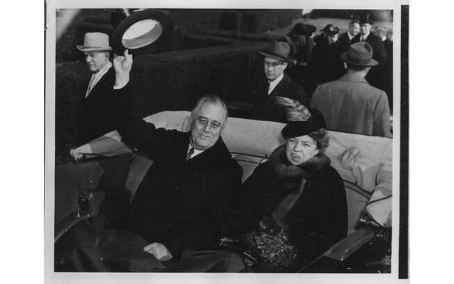 O presidente dos Estados Unidos, Franklin D. Roosevelt foi casado com a prima Eleanor e teve seis filhos. Foto: Wikimedia Commons