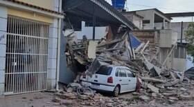 Jovem morre após prédio desmoronar em Nilópolis